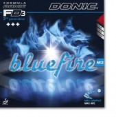 DONIC Bluefire M2  Hardness: 42,5 grade CONTROL 7 SPEED 9++ SPIN 10++